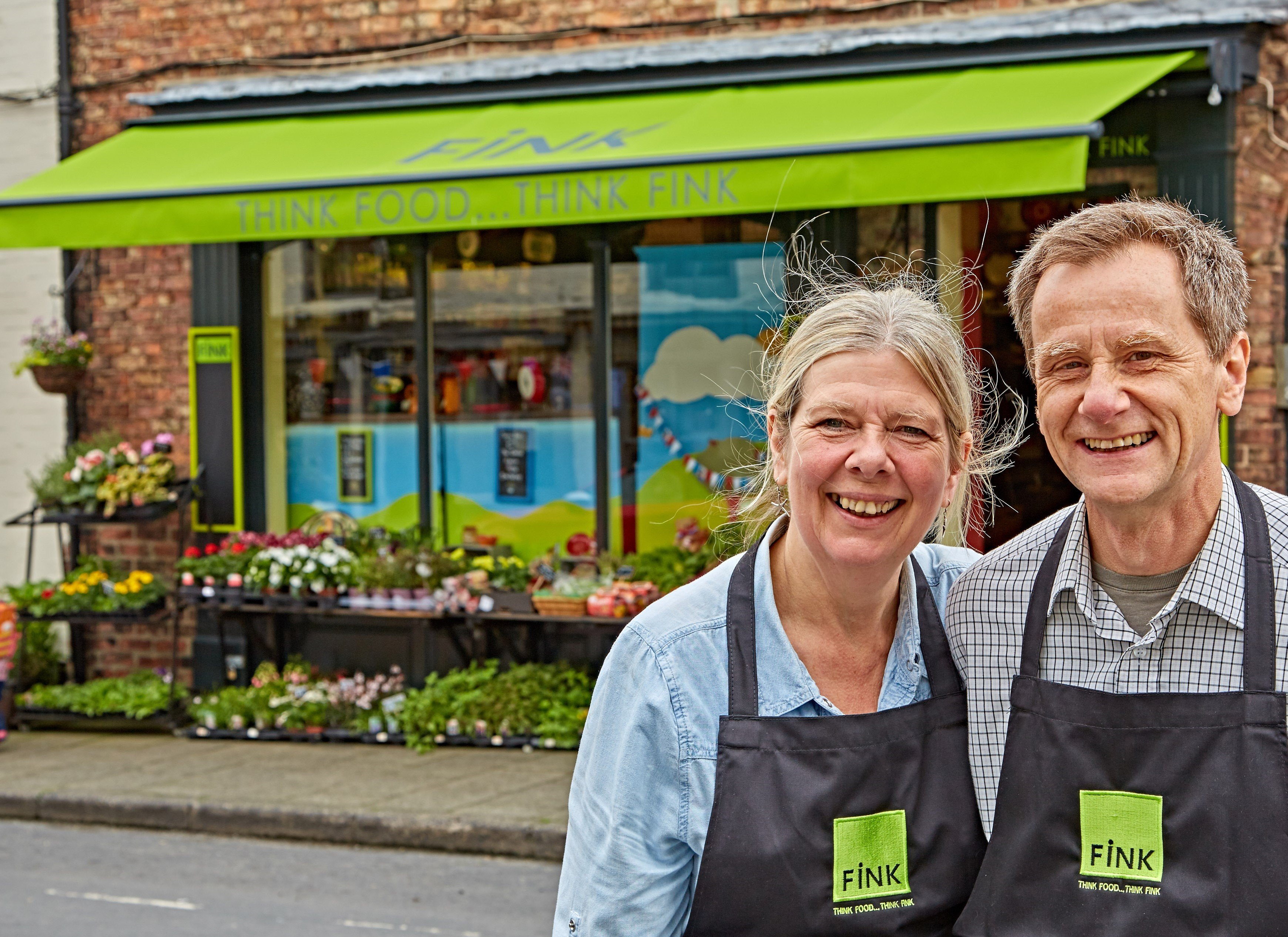 FINK, fine foods specialist in Boroughbridge, was nominated in the Village Shop/Local Store of the Year.